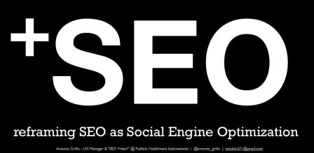 +SEO: Social Engine Optimization