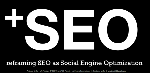 +SEO: Social Engine Optimization